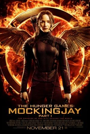 Plakat fyrir The Hunger Games: Mockingjay - Part 1 (2014)