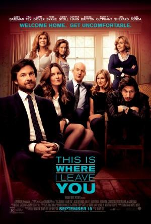 Plakat fyrir This Is Where I Leave You (2014)