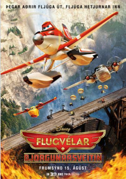 Flugvélar: Björgunarsveitin