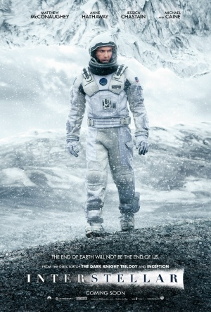 Plakat fyrir Interstellar (2014)