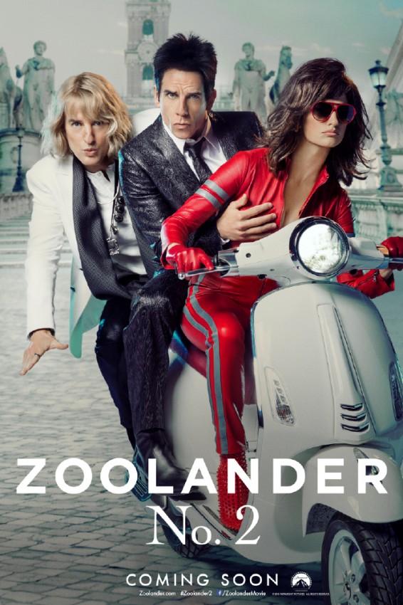 zoolander plakat