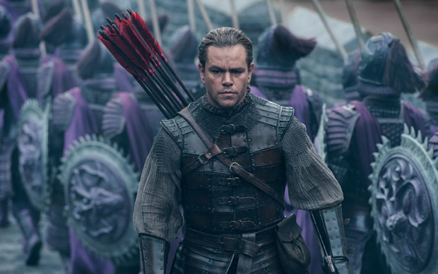 matt damon great wall