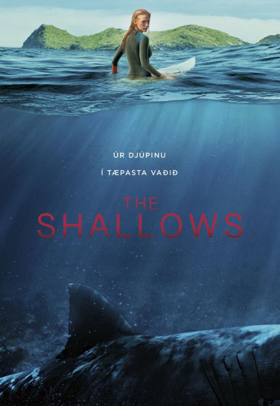 shallows plakat