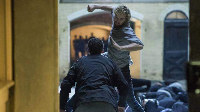 Finn Jones in Iron Fist